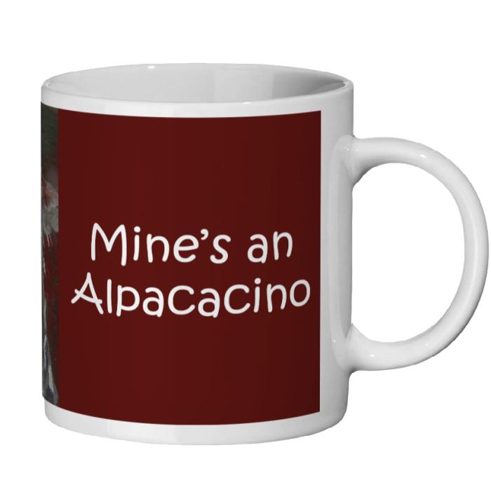 Funny farm animal mug