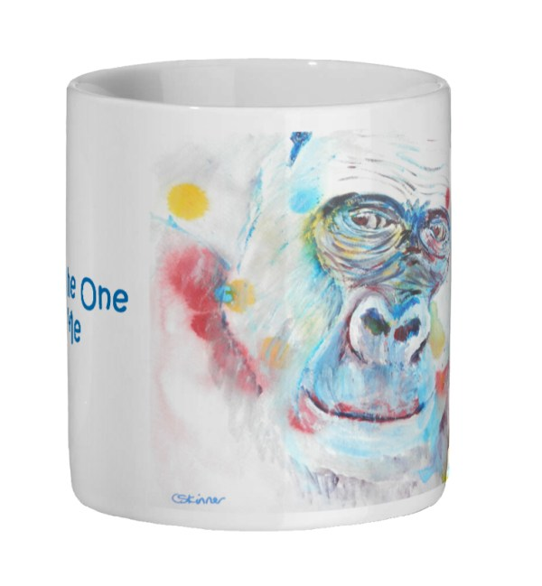 gorilla mug for Valentines Day