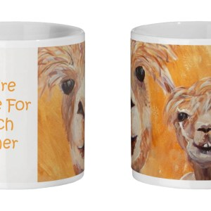 alpaca mug for animal lovers