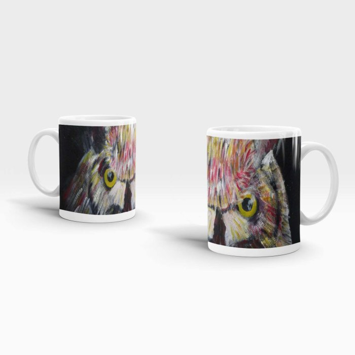 Colourful Owl Mug
