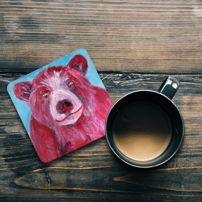 Cute Bear coaster