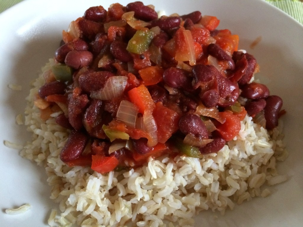 Plant based vegan chilli