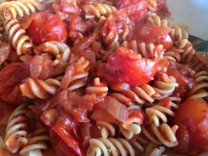 Plant-Based Roasted Tomato Sauce with Whole Wheat Pasta