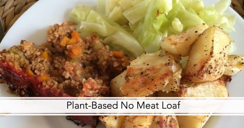 Plant-based no meat loaf