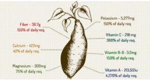 Sweet Potato nutrition info