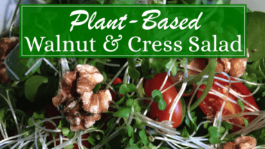 Walnut and Cress Salad