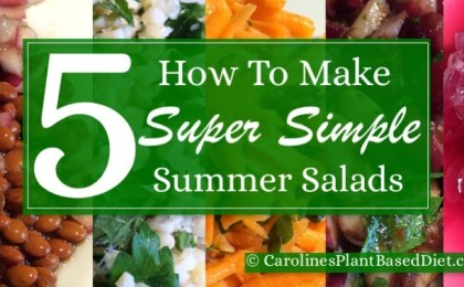 How to Make 5 Super Simple Summer Salads