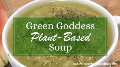 Plant-Based Green Goddess Soup