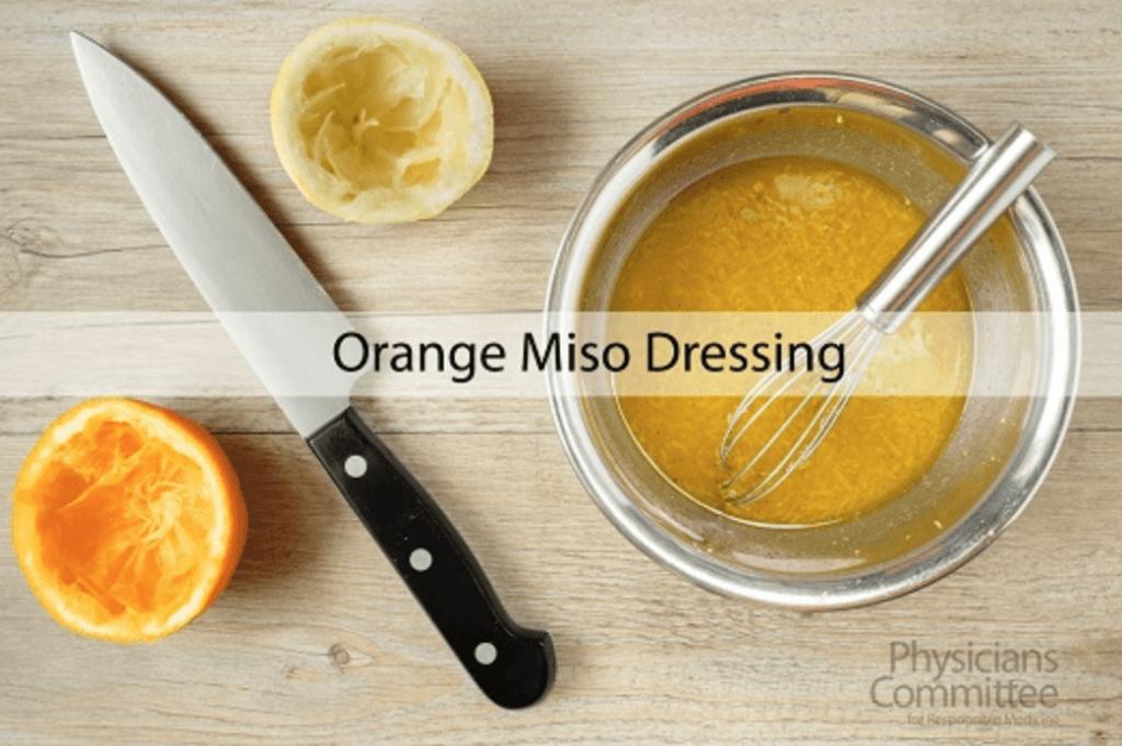 Orange Miso Dressing