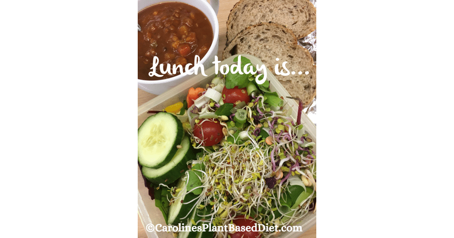 October 23rd plant based lunch 2018