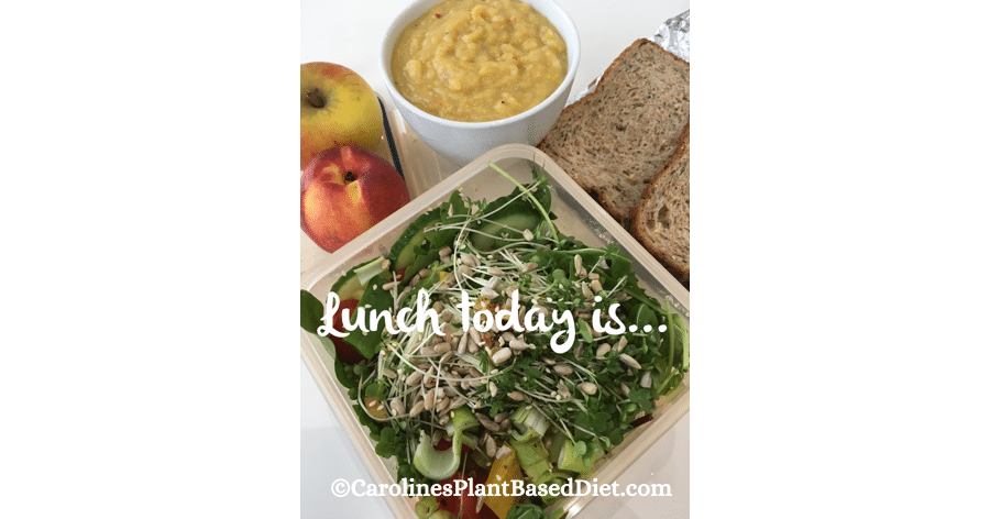 October 8th plant based lunch 2018