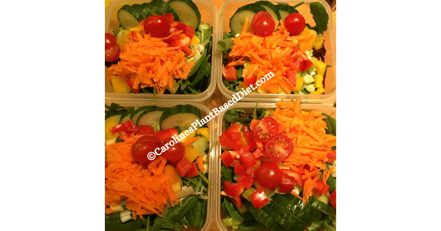 October batching 27 October plant based lunches 2018