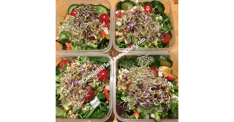 October plant based batched lunch 20 October 2018