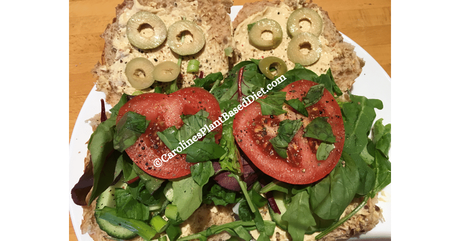 Plant based lunch 24 June 2018