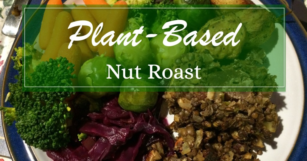 Plant-based nut roast