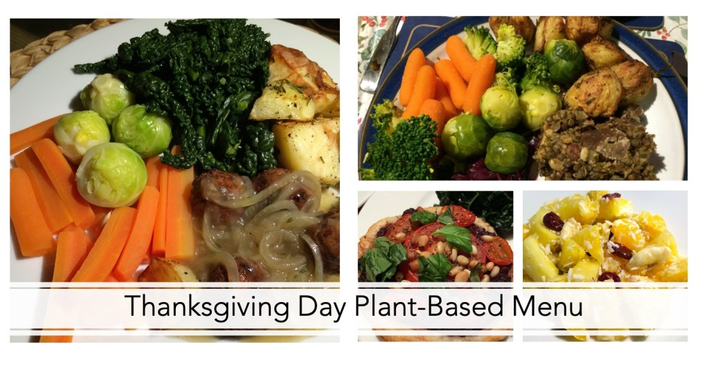 Thanksgiving Day Plant-Based Menu 3
