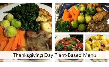 Thanksgiving Day Plant-Based Menu 3