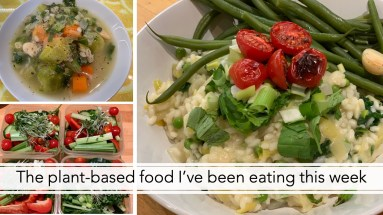 The plant-based food I've been eating this week 2
