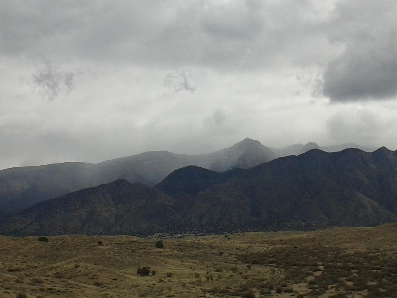 stormy sandias