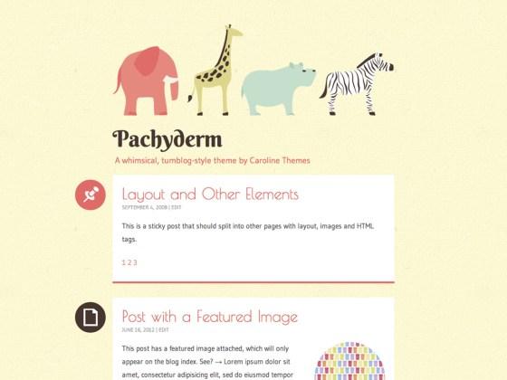 Pachyderm Free WordPress Theme