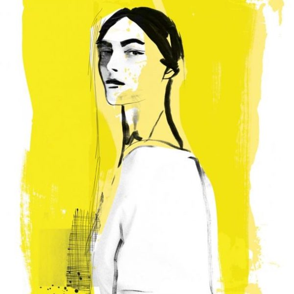 Fashion Illustration Print, London Fashion Week