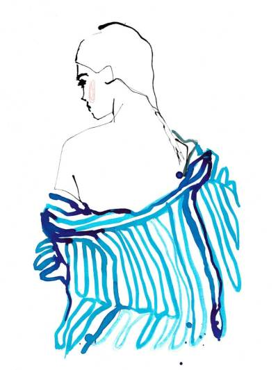 Lock Down Looks Fashion Illustration