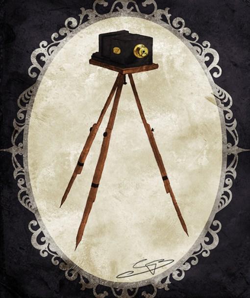 Discworld tissue box cover - Camera