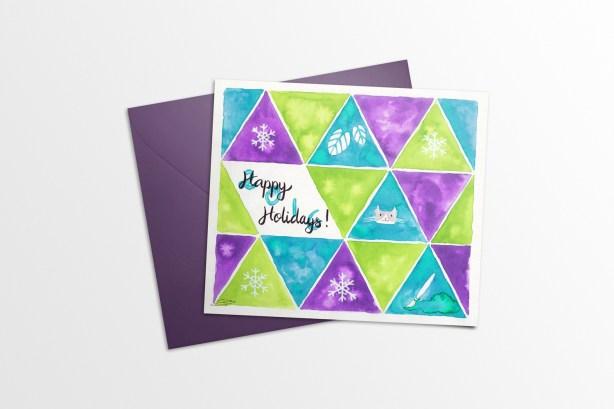 Holidays Card 2015 - Mockup