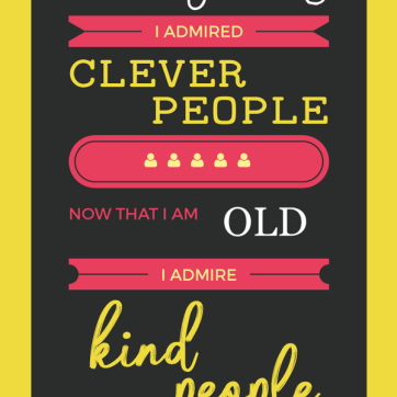 Day 29: Kind People