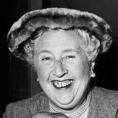 Agatha Christie famous author of crime novels (Newscom TagID: mrpphotos003283)     [Photo via Newscom]
