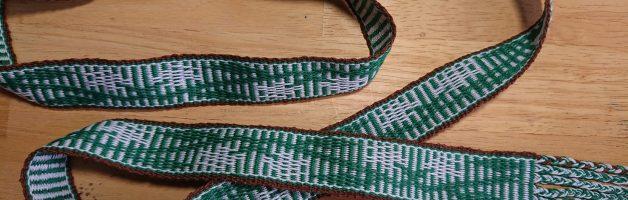 Eadgyth aet Staeningum – Inkle-woven belt