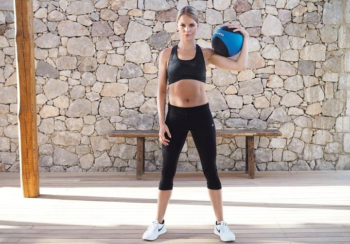 Workout mit Caro