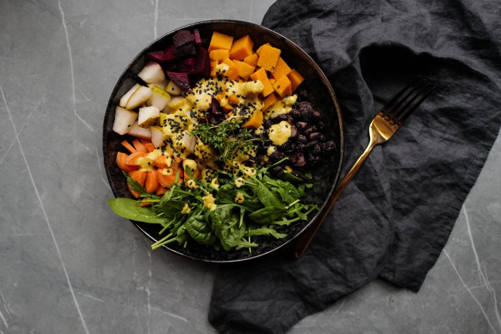 Eat the rainbow: Healthy Buddha Bowl