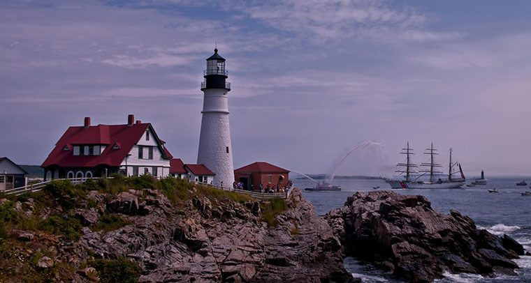Coastal Maine Portland Headlight Maine Office of Tourism