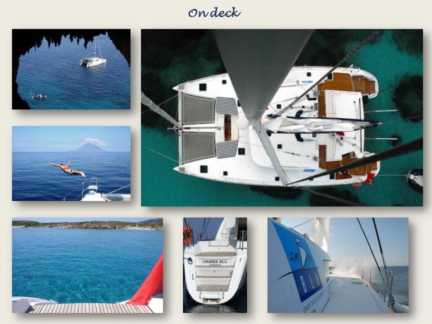 Sailing the Amalfi Coast on Ombre Blu Sailing Catamaran