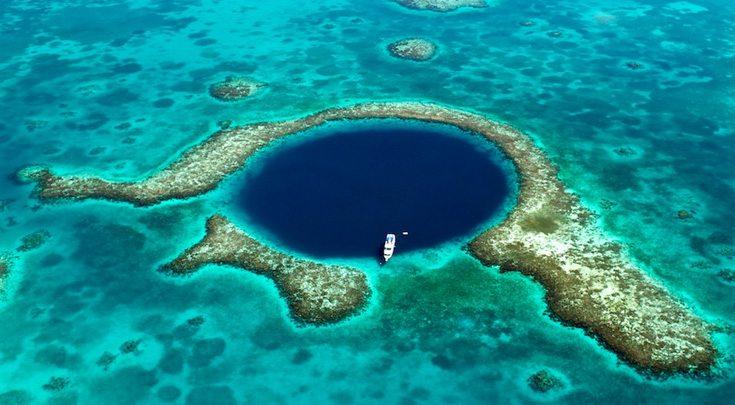 Belize's iconic Great Blue Hole
