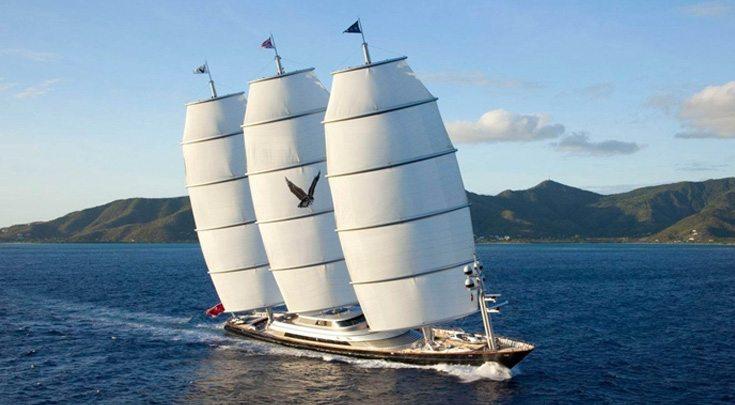Sailing Yacht 289' Maltese Falcan