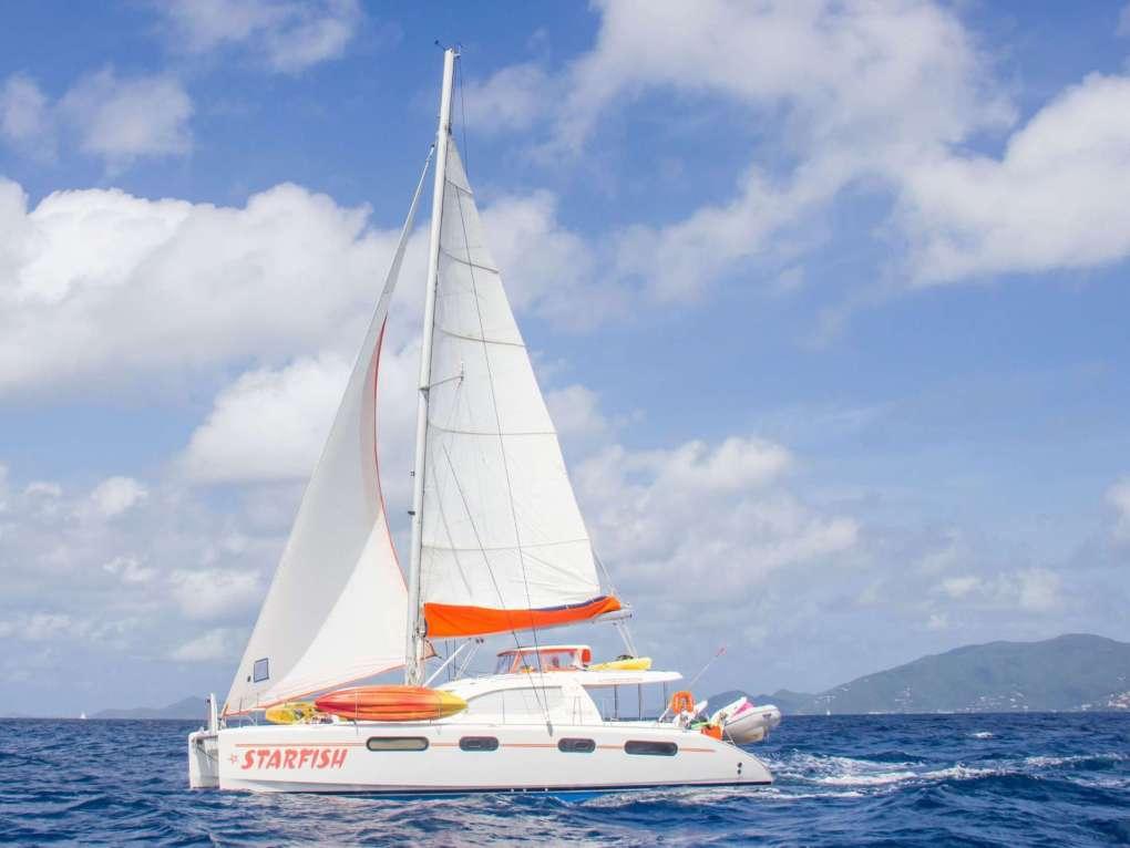 46' sailing yacht STARFISH