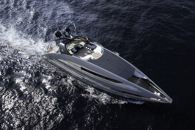 Ocean Emerald 135ft Foster & Partners motor yacht