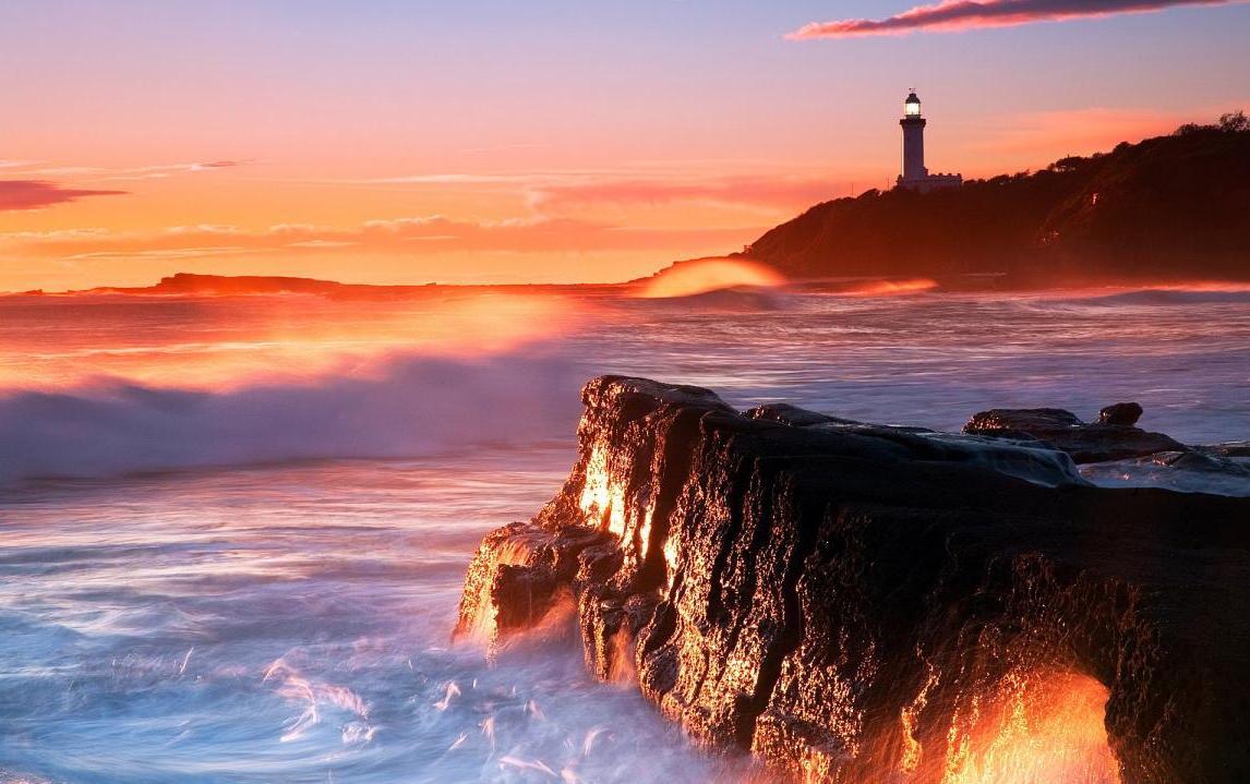 Montauk Lighthouse in the Hamptons, New York