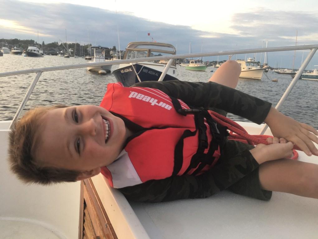 Marblehead Harbor fun on the water