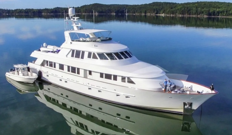 124ft Delta Marine motor yacht WONDERLAND operates on the West Coast United States, in Central America and the Caribbean