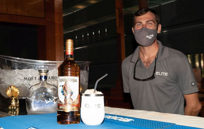 Best Capt Morgan Rum Cocktail in Show by M-Y ELITE at the US Virgin Islands Charter Yacht Show 2020