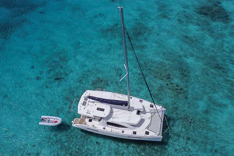 48ft Leopard sailing catamaran VICARIOUS operates in the East Coast United States and the Caribbean
