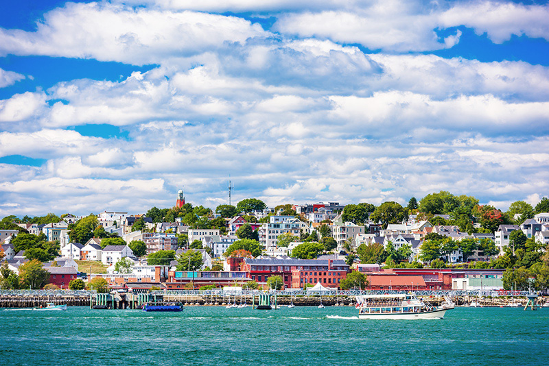 Portland, Maine from the water