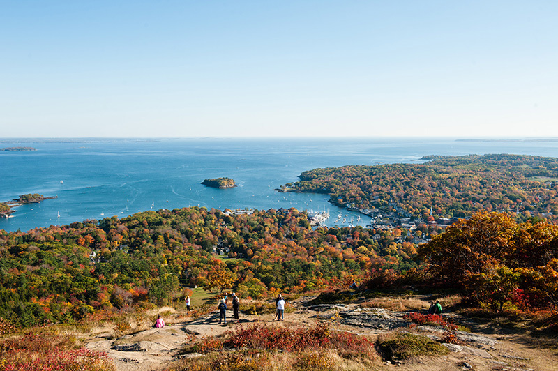 """Somes Sound in Maine is described as a """"fjord"""" and the only one of its kind on the East Coast."""