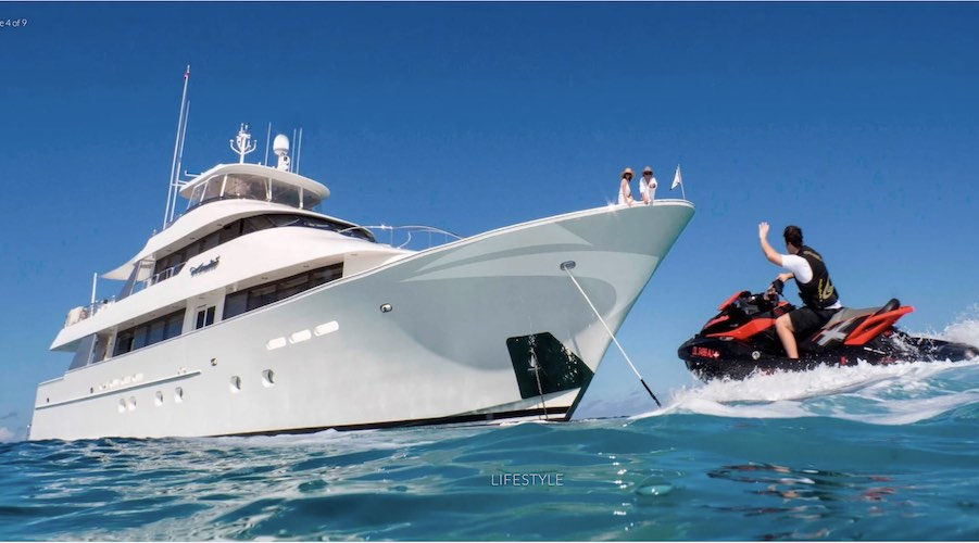 130ft Westport motor yacht ALL INN operating in Florida, Bahamas, US & BVI and New England, 2022 Summer in Alaska