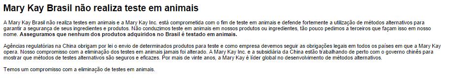 Nosso Compromisso   Mary Kay do Brasil  Maquiagem  Cuidados com a Pele  Contato  Maquiagem Virtual  Histórias de Sucesso