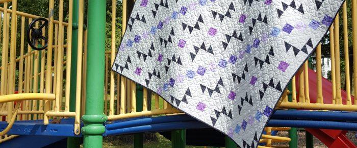 Pawing Around with BOB – September Island Batik Challenge