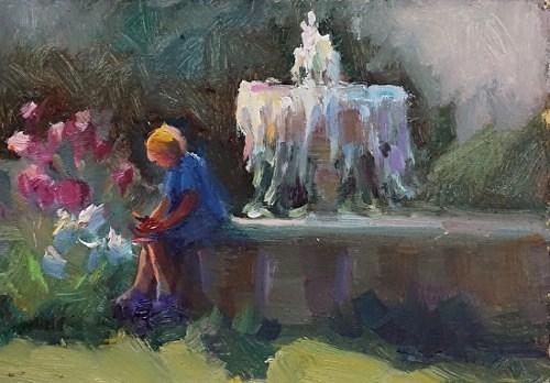 fountain-girl